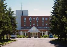 ホテル豊富の外観